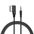 Extended 3.5mm to MMI AUX Cable for Benz Mercedes - Black (120cm)