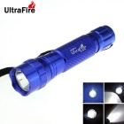 Ultrafire WB-501B XM-L2 1-LED 800lm 8-Mode Cool White SMO Reflector Flashlight Torch - Blue