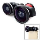 4-in-1 Ultra-Wide-Angle + Front & Rear Fish Eye + Macro Camera Lenses Kit for IPHONE 6