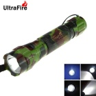 Ultrafire WF-15 XM-L2 LED 800lm 8-Mode Cool White SMO Reflector Flashlight Torch (1 x 18650)