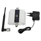 "1.5"" LCD Lightning-Proof Phone Signal Amplifier - Silvery White+ Black"