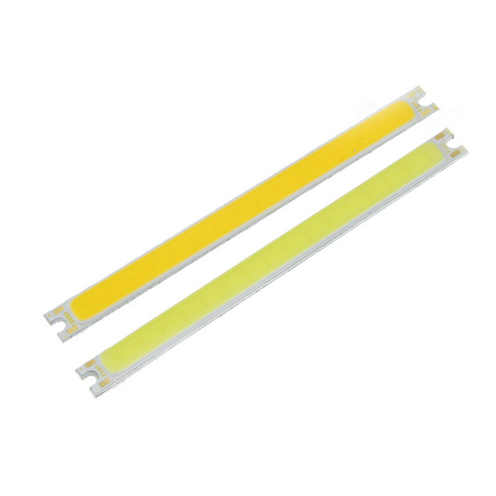 5W Cold White + Warm White 16-COB LED Strip Board - Yellow (2PCS)