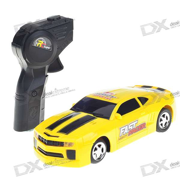 Sound Activated R/C Toy Car - Yellow (4*AA)