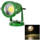 Waterproof 3W COB LED Lawn Lamp Spotlight Warm White 3500K 160lm - Grass Green (DC/AC 12V)