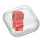 T100 Isolation Memory Foam In-Ear Earphone Covers Tips - Red