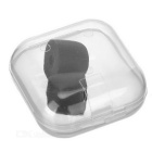 T100 Isolation Memory Foam Sponge In-Ear Earphone Covers Tips - Black