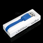 USB 3.0 TF + SD + MS + M2 lecteur de carte - blanc + gris