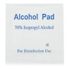 Disposable Alcohol Pad Antibacterial Tool Cleanser - White (100PCS)