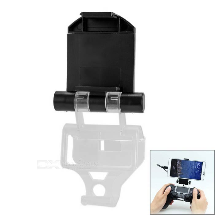 Plastic Stand Holder for PS4 Controller, Phones - Black + TransparentOther Accessories<br>Form ColorBlack + TransparentQuantity1 DX.PCM.Model.AttributeModel.UnitMaterialPlasticShade Of ColorBlackCompatible ModelsPS4,Others,Mobile phonePacking List1 x Stand1 x Micro USB cable (25+/-2cm)<br>