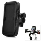 Cwxuan Bicycle Anti-Dust Anti-Shock Touch Screen Waterproof Case w/ Lanyard for IPHONE 6 - Black