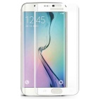 HD 3D Explosion-proof Tempered Glass Screen Protector for Samsung S6 Edge - White + Transparent