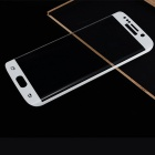 HD 3D Tempered Glass Film for Samsung S6 Edge - White + Transparent