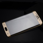 HD 3D Tempered Glass Film for Samsung S6 Edge - Golden + Transparent