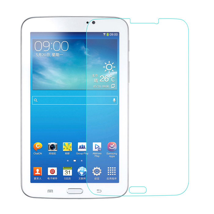 0.3mm Tempered Glass Screen Guard Protector for Samsung Galaxy Tab 3 7.0 T210