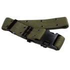Outdoor S Tactical Nylon Fiber Belt w/ Buckle - Army Green