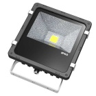 JIAWEN Waterproof 30W COB LED Floodlight White Light 3300lm - Black