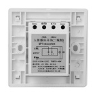 Cable Sistema de montaje en pared PIR Motion Sensor Interruptor (180 ~ 240V)