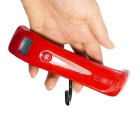 Prointxp Classic Luggage Scale w/ Auto-Holding-up Function - Red