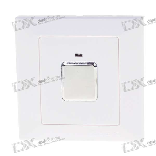 Three-Wire System Wall Mount Touch Sensor Light Switch (180~240V)