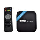DITTER U20 S805 Quad-Core Android 4.4.2 Google TV HD Player w/ 1GB RAM / 8GB ROM / HDMI 1080P / XBMC