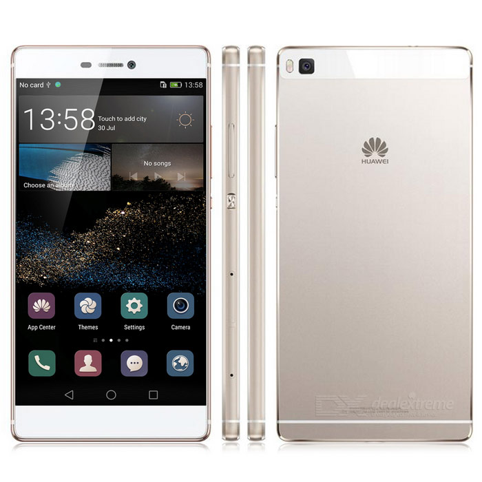 HUAWEI P8 Android Emotion UI 4G Phone w/ 3GB RAM, 64GB ROM - Silver
