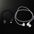 YUEER 106S Mini Music Bluetooth In-Ear Headset for Smartphones - White