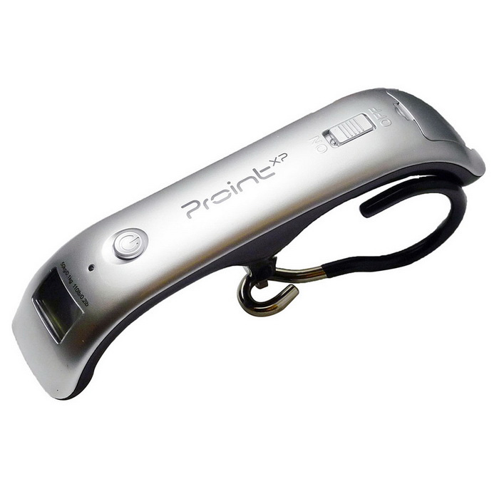 Prointxp Classic Luggage Scale w/ Auto-Holding-up Function - Silver