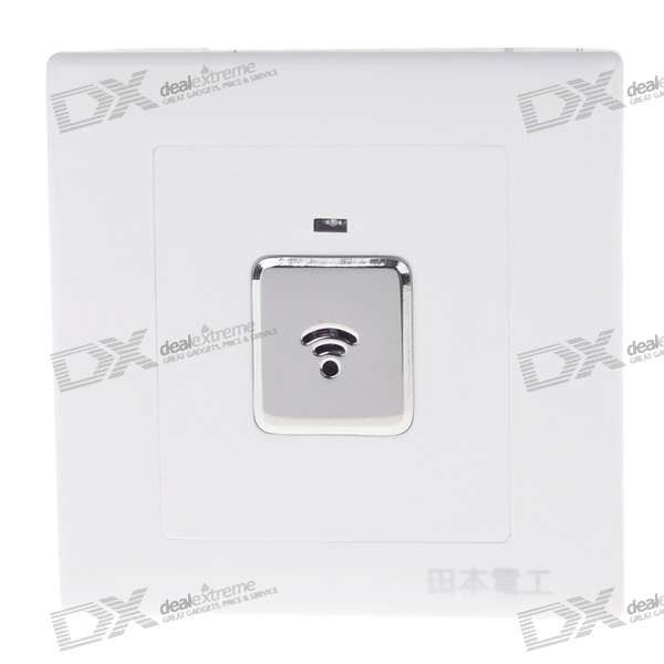 Two-Wire System Wall Mount Sound/Light Activated Light Switch (180~240V)