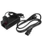 AC / DC Power Conversion Split Adapter - Black (100~240V / 12V)