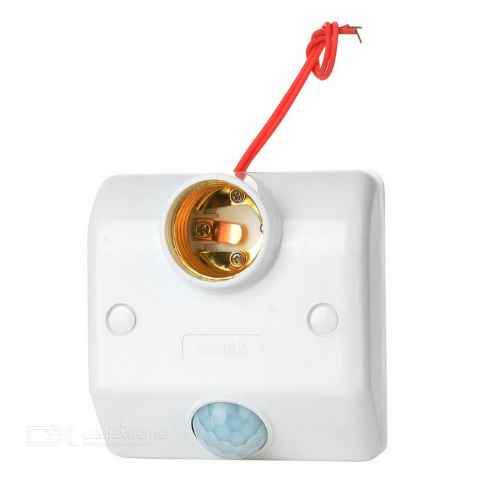 PIR Motion Sensor Lamp Holder (180~240V)