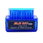 Mini Car OBD2 ELM327C Bluetooth V2.1 Code Reader Scanner for Android Phones - Blue