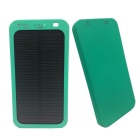 "Universal 5V 1A ""13800mAh"" Li-Polymer Solar Power Bank Charger - Green"