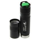 UltraFire 1-LED Cold White 800lm 7000K 8-Mode Flashlight (1*18650)