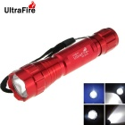 Ultrafire WB-501B 8-Mode XM-L2 LED White Memory Flashlight Torch - Red (1 x 18650)