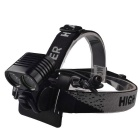 RichFire SF-614 2 x XM-L U2 1200lm 4-Mode Red Eagle Eye Bike Light / Headlamp (4 x 18650)
