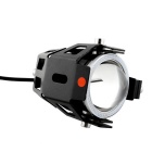 Moto 30W 3000lm 6500K 3-Mode LED Froid Blanc / Rouge Phare de voiture