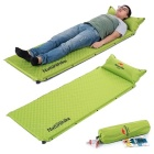 NatureHike Foldable Air Inflatable Camping Moistureproof Mat - Green