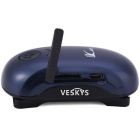 VESKYS Mini GSM/GPRS/GPS Strap Tracker for Elder,Kids,Pets - Dark Blue