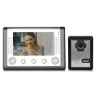 "7"" Color TFT LCD Home Security Video Door Phone Kit - Grey (EU Plug)"