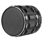 Мини Bluetooth V3.0 + EDR спикер ж / FM-радио, TF - черный