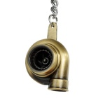 Fashion Turbo Style Zinc Alloy Keychain - Bronze