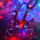 Deer Shaped 3W RGB 20-LED String Light for Christmas Party (4m)