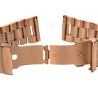 Stainless Steel Watchband for APPLE WATCH 42mm - Rose Gold