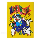 Magic Color Changing Cartoon Characters Book - Yellow + White + Multicolor