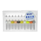 WLXY Tungsten Steel Drill Bit Set - Silver + Multicolor