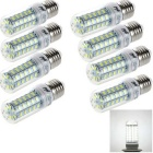 YouOKLight E27 9W LED Corn Light Bulb Lamps White Light 48-SMD 5730 6000K (220~240V / 8PCS)
