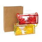 Magic Mini Kraft Bag + Flower Boxes Set - Brown + Multicolor