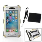 R-JUST Sport Protective Aluminum Alloy Full Body Waterproof Case for IPHONE 6 PLUS - Gold + Black