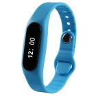 "E06 Sports 0.69"" Bluetooth V4.0 Smart Bracelet w/ Activity Tracker, Pedometer, Sleep Monitor - Blue"