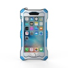 R-JUST Sport Protective Aluminum Alloy Full Body Waterproof Case for IPHONE 6 / 6S - Black + Blue